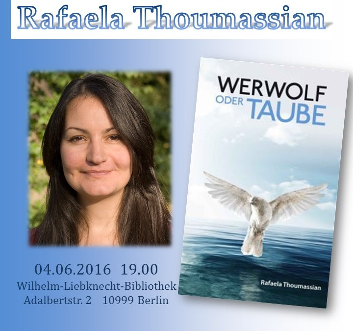 Yazar Rafaela Thoumassian İle Okuma Akşamı