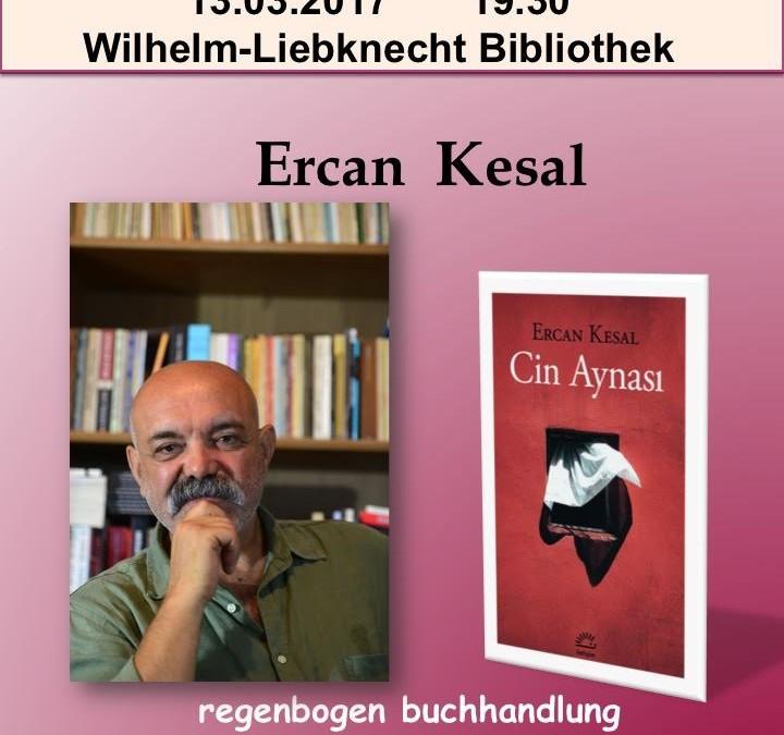 Yazar Ercan Kesal İle Okuma-Söyleşi Akşamı